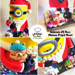 Tarta Minion Navidad RESERVA