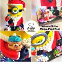 Tarta Minion Navidad RESERVA 50%