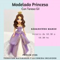 Master Class modelado princesa