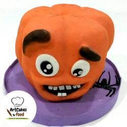 Tarta Halloween Calabaza